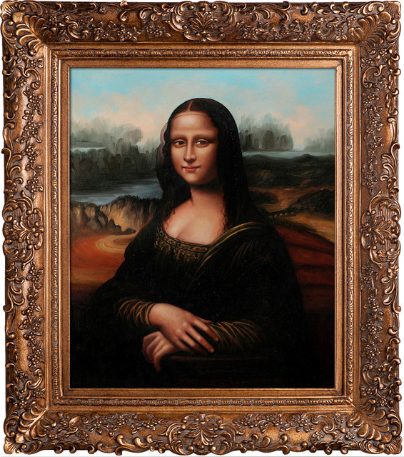Da Vinci Mona Lisa Modern Paintings By Overstockart