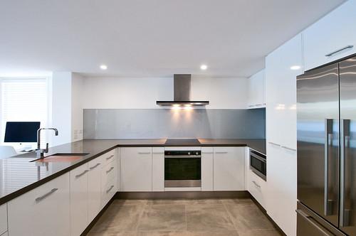 White Kitchen Kickboard stainless steel kick board