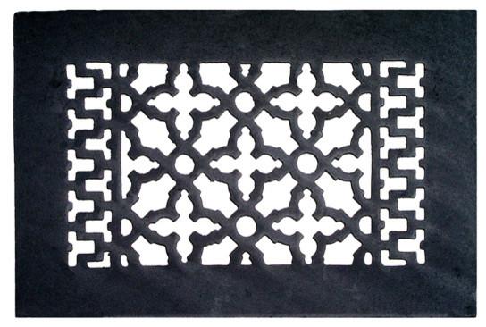 Decorative Cast Iron Register, With Holes, 10x6.
