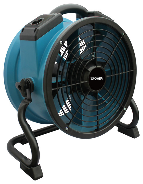 Xpower X-34tr Variable Speed Sealed Motor Industrial Axial Fan With Timer.