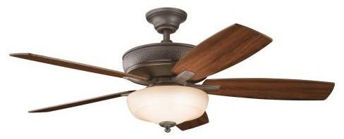 """52"""" Monarch Ii Select Ceiling Fan, Olde Bronze."""