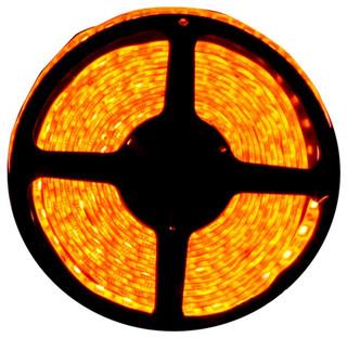 Orange Super Bright Flexible LED Light Strip 16', Reel Kit - Traditional - Undercabinet Lighting ...
