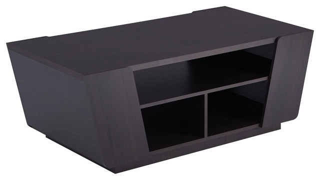 Stupendous Helena Contemporary Angled Coffee Table Espresso Pdpeps Interior Chair Design Pdpepsorg