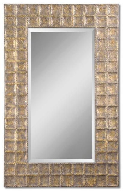 e5439a2bb31 Uttermost 12643 B Gavino Antique Gold Mirror - Transitional - Wall ...