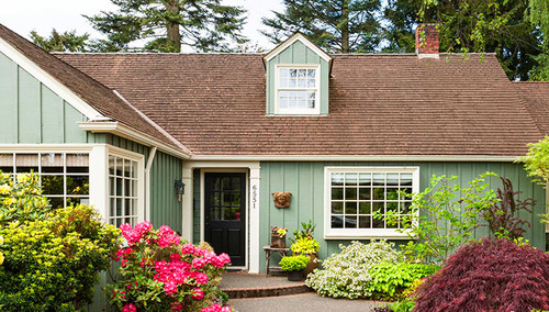 Exterior Paint Colors for 1980s Contemporary Home