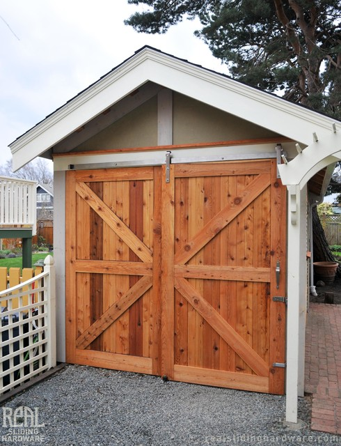 Barn Door Installations Rustic Garden Shed And Building Vancouver By