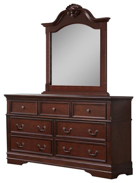 Valencia Dresser With Mirror.