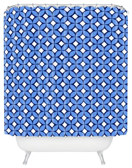 Caroline Okun Blueberry Shower Curtain Contemporary