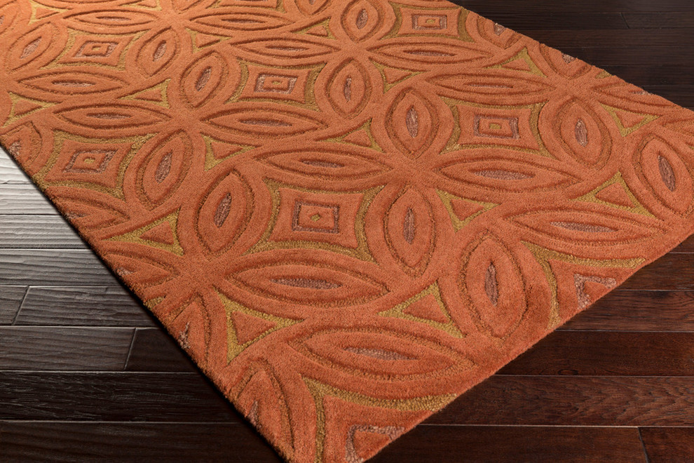 Surya Perspective Rectangle 9 X 13 Area Rugs Psv44 913 Contemporary Area Rugs By Incredible Rugs And Decor