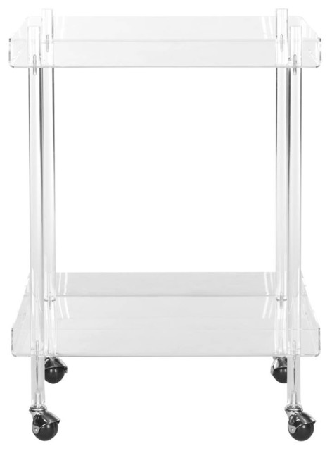 Kitchen Cart, Clear Finish.