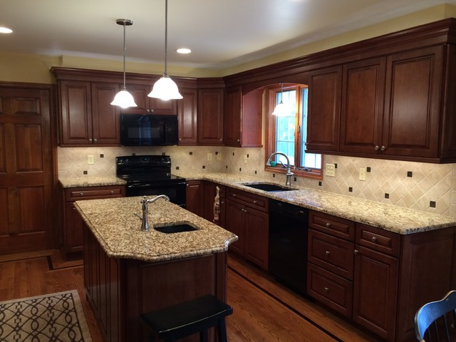 Kraftmaid Chestnut Maple Traditional New York By Testo Kitchens Inc