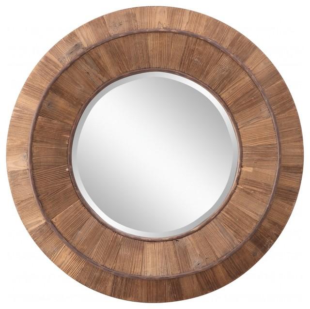 Cooper Clics Andrea Mirror Natural Rustic Wood