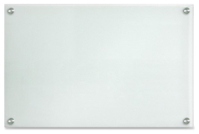 lorell glass dryerase board 24 width x 14 height frost glass surface - Glass Dry Erase Board