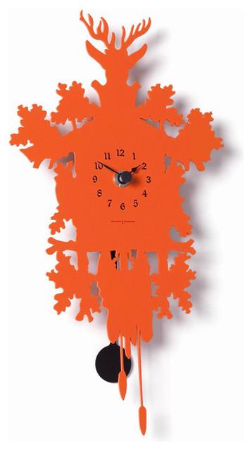 Diamantini Domeniconi Cucu Mignon Lacquered Clock Modern Clocks By Switch