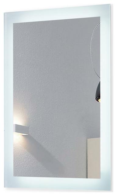 "Luminous LED Mirror, 20""x30""x1.75"""