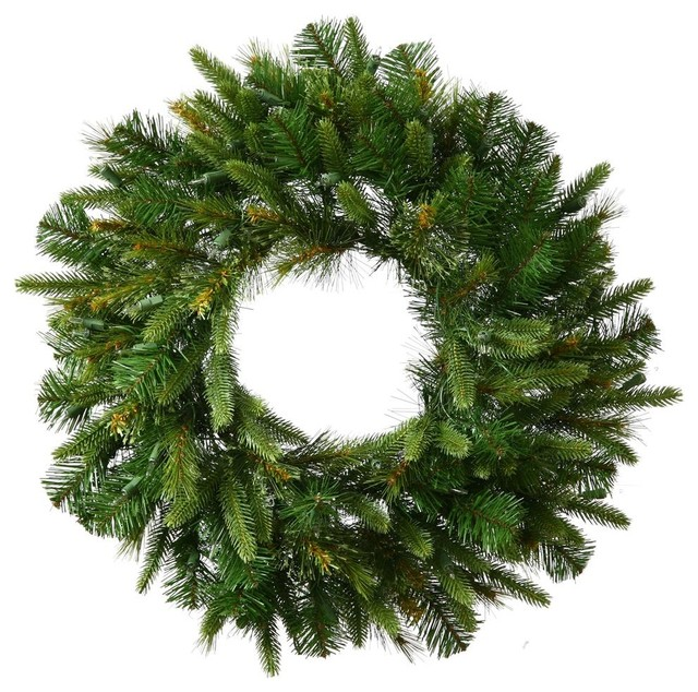 Vickerman 72 Green 760 Tips Wreath.