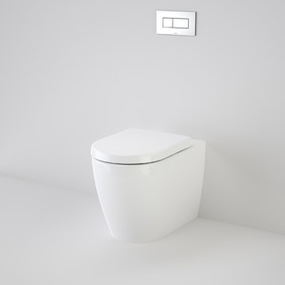 Urbane Wall Faced Invisi Series II® Toilet Suite