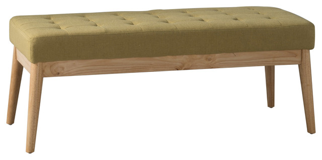 Anglo-Modern-Mid-Century-Fabric-Bench Anglo-Modern-Mid-Century-Fabric-Bench A, O.