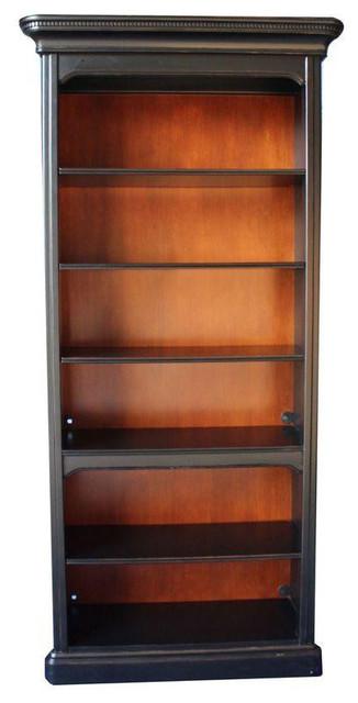 Sligh Black Wood Bookshelf From Sunrise Home 1 250 Est Retail 475 On Chai