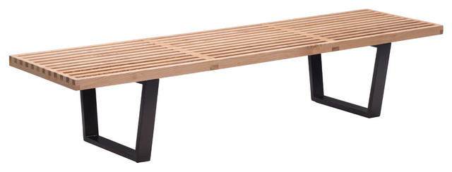 Heywood Triple Bench Natural. -1