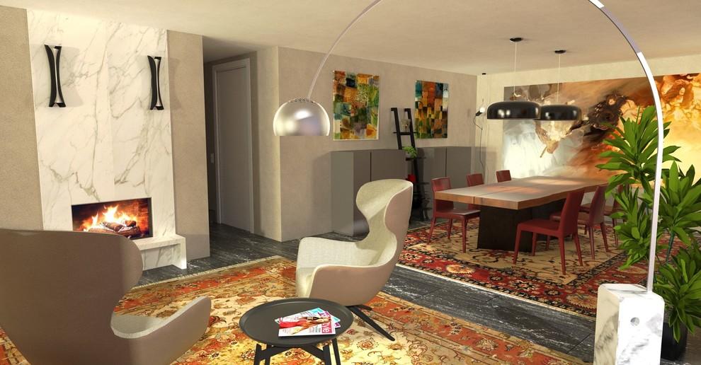 Interiors in Bellinzona