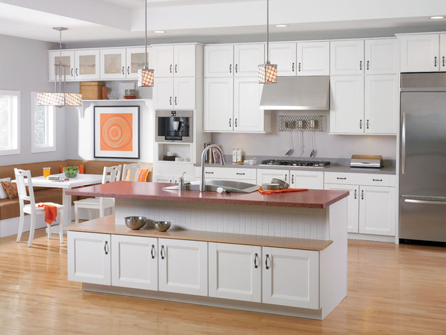 Solana White - Traditional - Kitchen - DC Metro - by Shenandoah ...