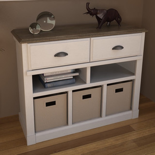 Ameriwood Entry Hall Storage Unit - Contemporary - Hall Trees - by Overstock.com