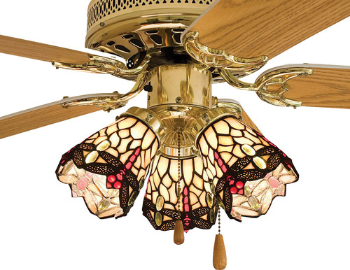 What size of lightbulb does this fan take dragonfly tiffany light fa aloadofball Choice Image