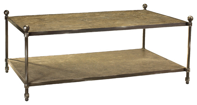French Heritage St Lazare Coffee Table Industrial Coffee Tables By French Heritage