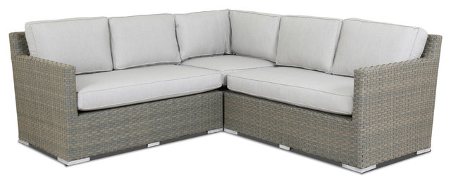 Sunset West Majorca Sectional With, Sunset West Outdoor Furniture