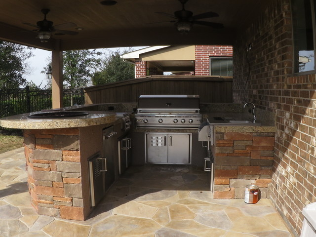 Outdoor Kitchens By Increte Of Houston Patio Houston By Increte Of Houston