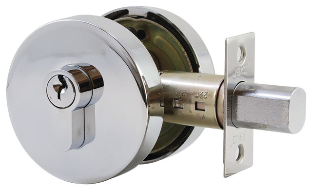 Round Deadbolt High Security Key