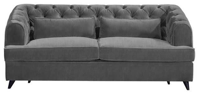 Earl Grey Sofa Bed, Storm, 2-Seater, 113x186 cm