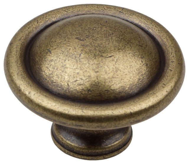 "1.25"" Oil-Rubbed Bronze Round Ring Cabinet Knob - Transitional - Cabinet And Drawer Knobs - by ..."