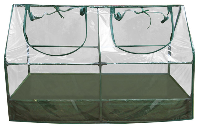 Garden Raised Bed And Cold Frame Greenhouse Cloche - Contemporary ...