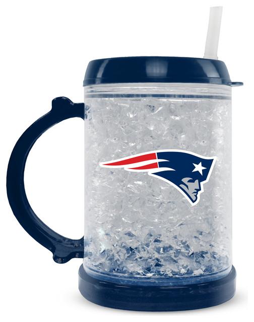 09510af4 New England Patriots Junior Crystal Freezer Mug, 8 Oz