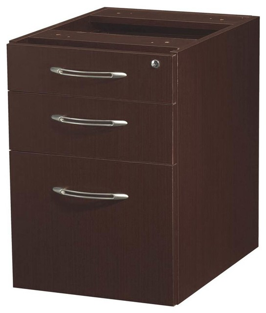 Suspended Credenza File Cabinet - Contemporary - Filing ...