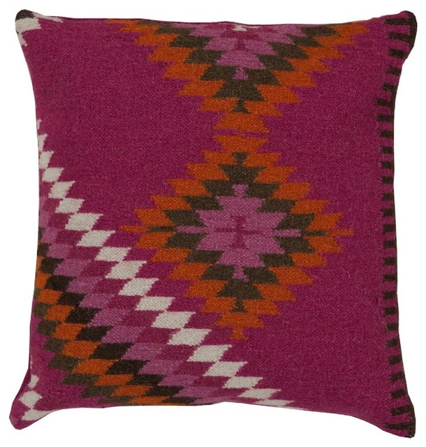 Southwestern Decorative Throw Pillows : Southwestern/Lodge Kilim Decorative Pillow - Southwestern - Decorative Pillows - by RugPal