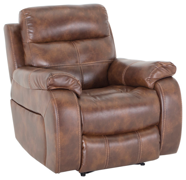 Bellini Upholstered Reclining Armchair Banor Chestnut transitional-recliner -chairs  sc 1 st  Houzz & Bellini Upholstered Reclining Armchair Banor Chestnut ... islam-shia.org
