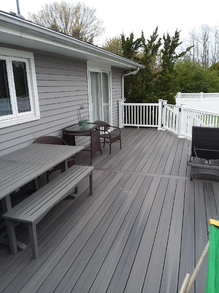 Flemington Trex Deck