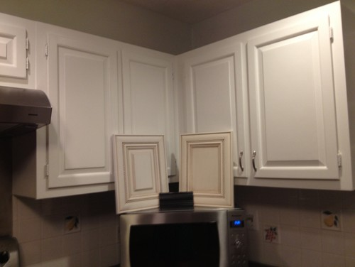 Help Are Cream Cabinets Ok With White Trim