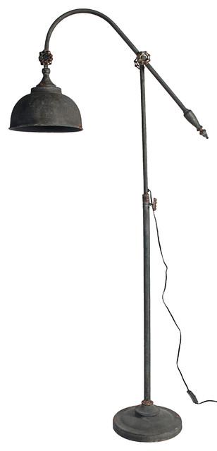 21 5x10 5x66 5 Arris Adjustable Arm Floor Lamp Farmhouse