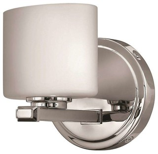 Transitional Chrome Wall Sconces : Hinkley Lighting 5420CM, Ocho Wall Sconce, Chrome - Transitional - Wall Sconces - by ...