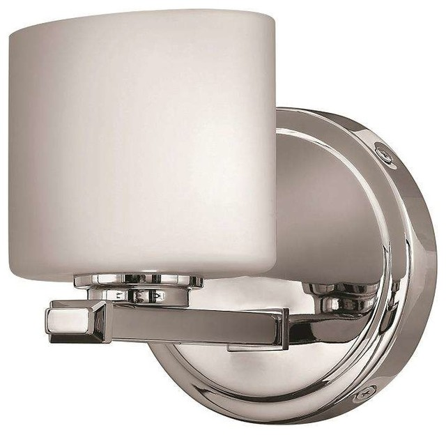 Modern Chrome Wall Sconces : Hinkley Lighting 5420CM, Ocho Wall Sconce, Chrome - Contemporary - Wall Sconces - by ...