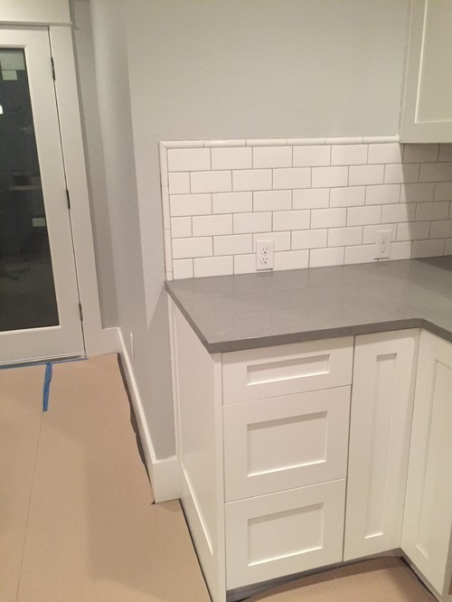 Where To End Counter And Backsplash
