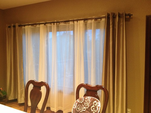 What is wrong with these curtains?