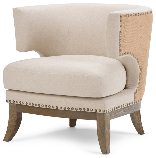 Hoffman Accent Chair Transitional Armchairs And Accent