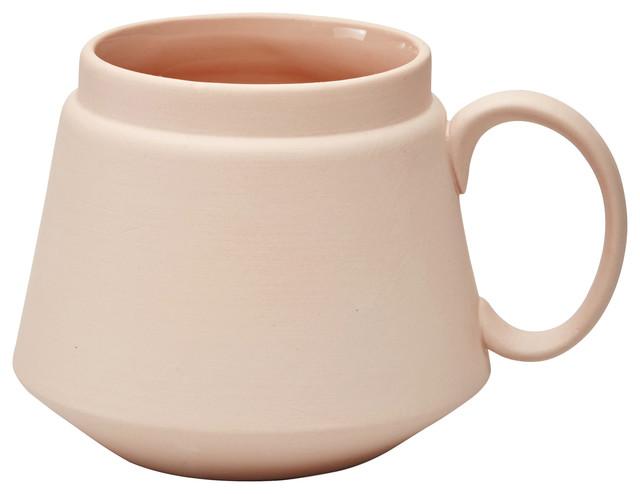 Ceramic Mug, Pink