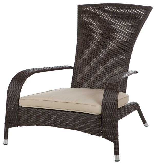 Coconino Wicker Chair Contemporary Outdoor Lounge Chairs