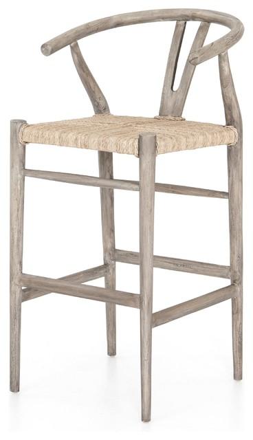Terrific Carlisle Counter Stool Weathered Grey Creativecarmelina Interior Chair Design Creativecarmelinacom